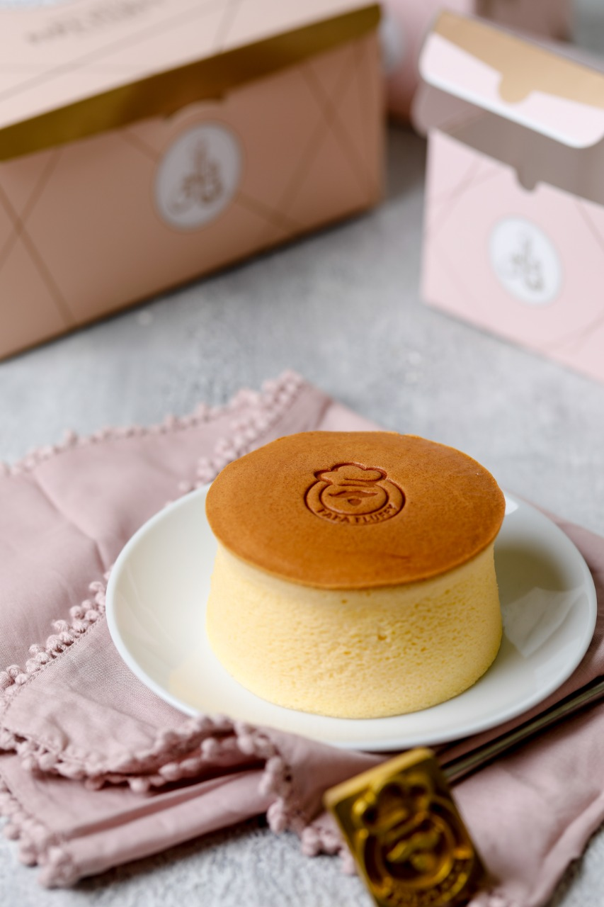 Papa Fluffy Japanese Cheesecake cheese tart dubai abudabi